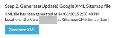 elcomCMS XML Sitemap prepared