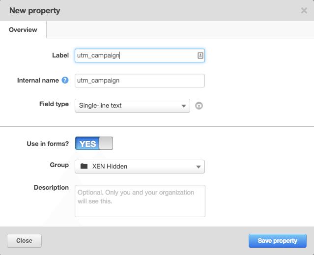 Adding HubSpot contact properties