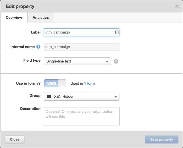 Edit HubSpot contact custom properties