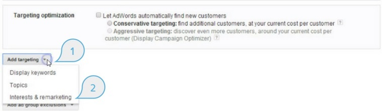Run Google display ads to get in front of relevant and in-market audiences