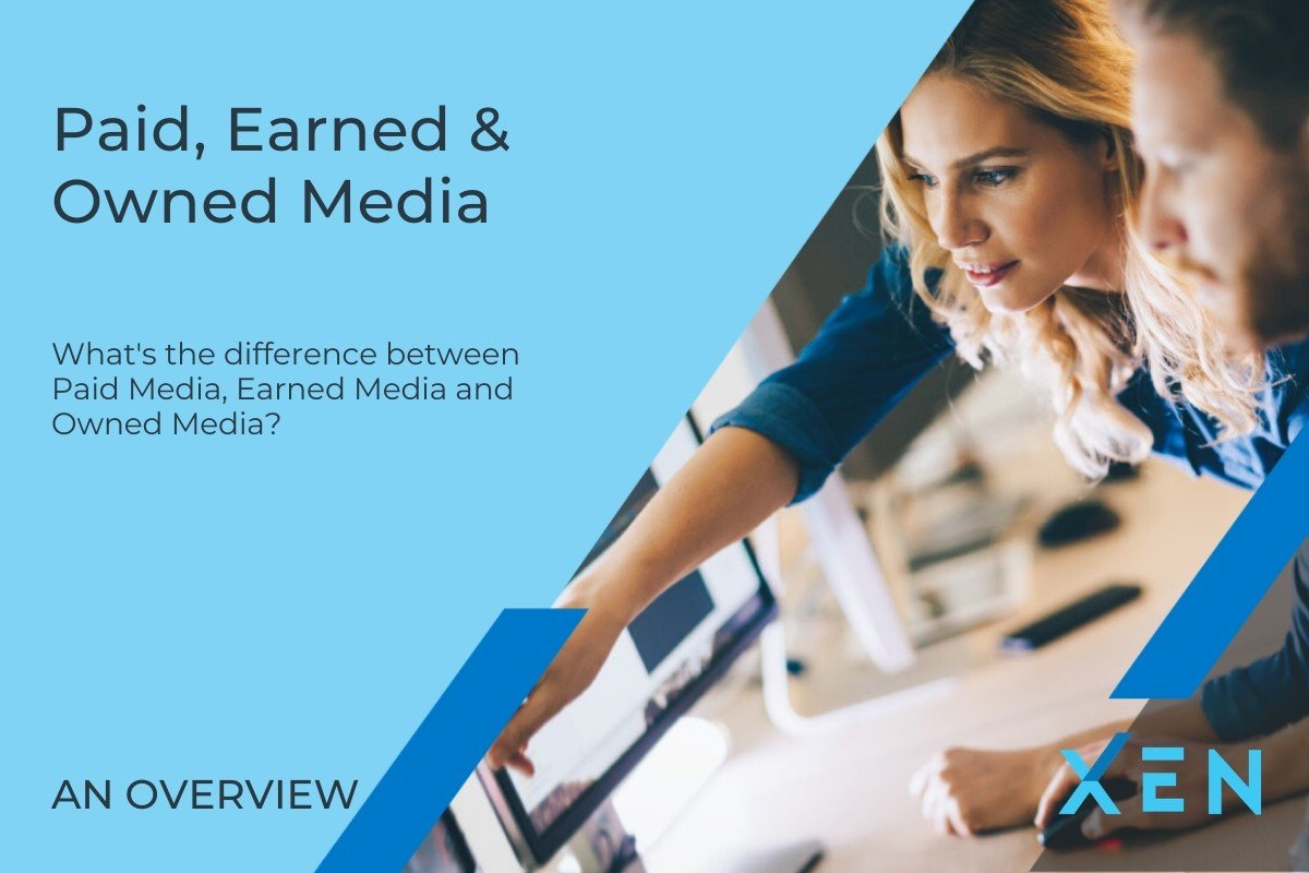 What's the difference between Owned Media, Paid Media and Earned Media?