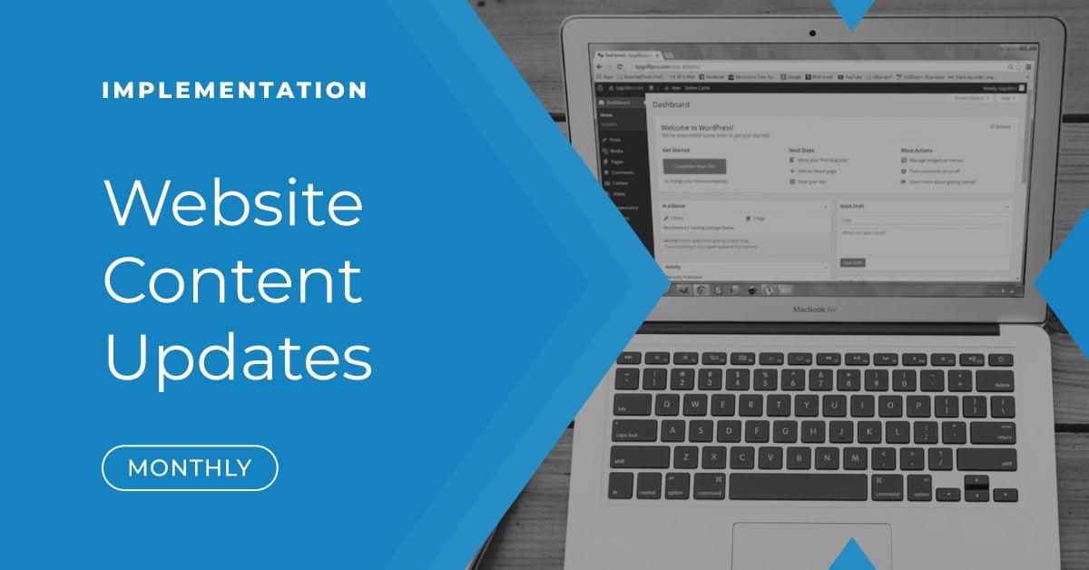 Website Content Updates