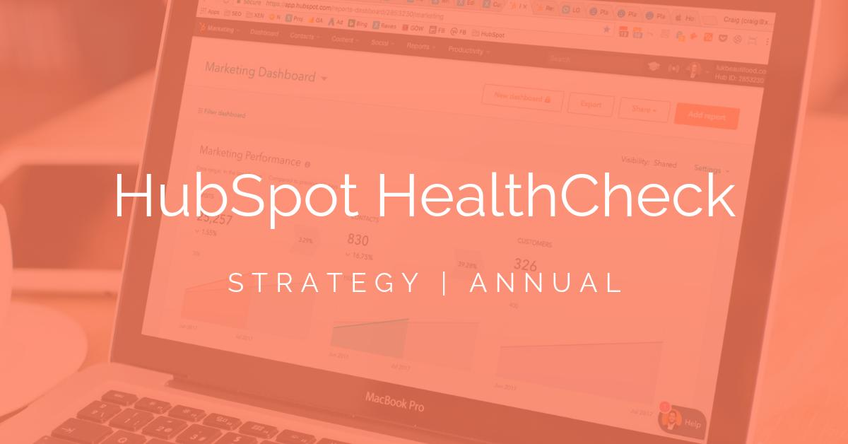 HubsSpot HealthCheck