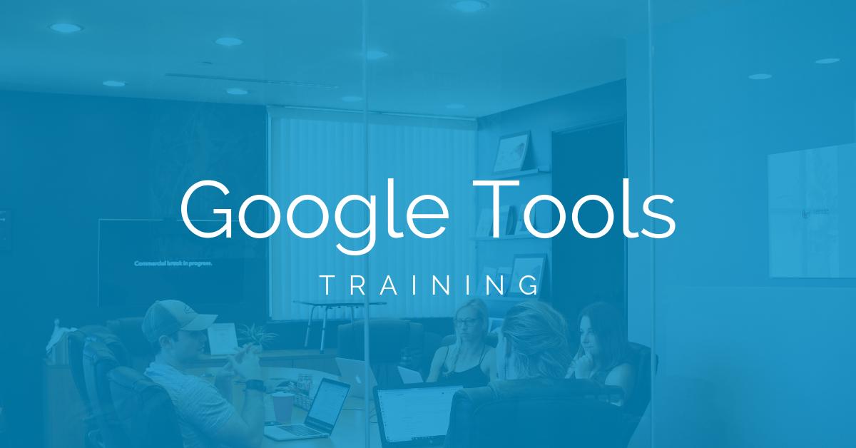 training-google-tools
