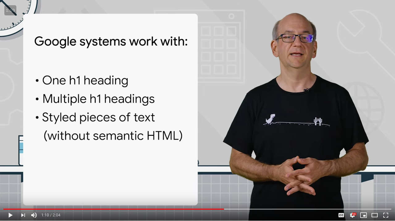 12  Multiple H1 headings  how to handle them for SEO   accessibility   AskGoogleWebmasters   YouTube