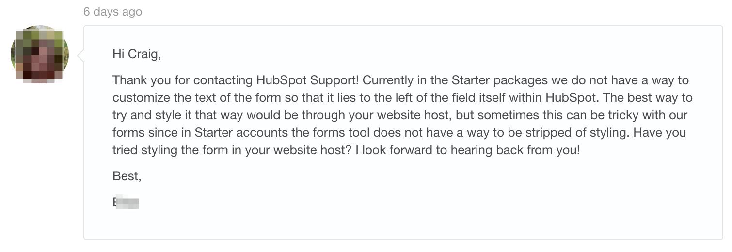 Support Inbox