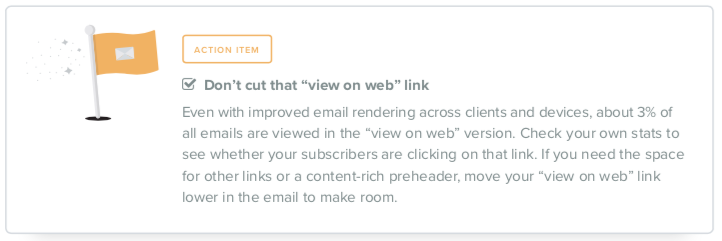 email view on web link