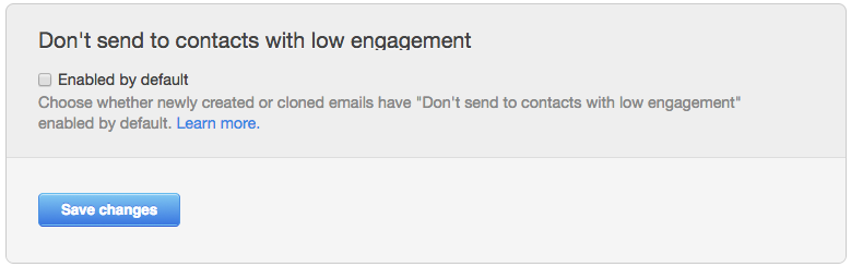 hubspot email low engagement