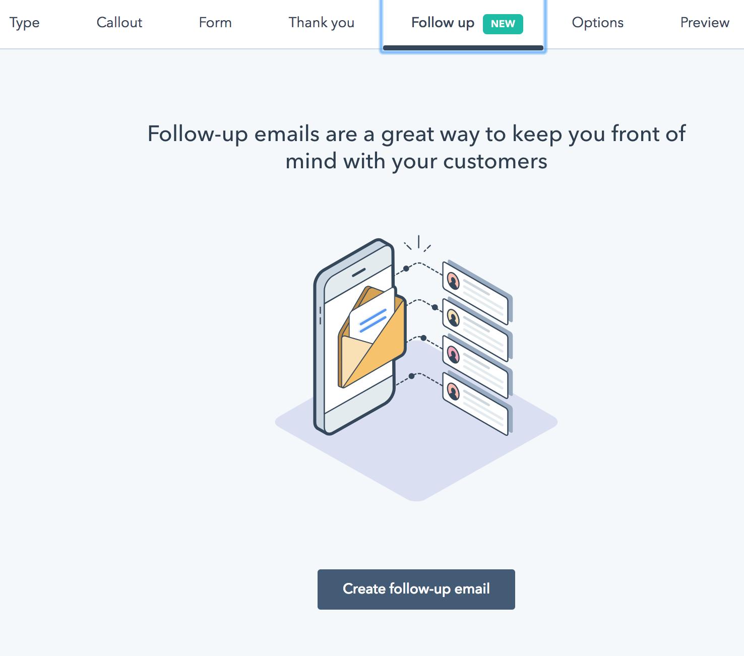 hubspot lead flow emails
